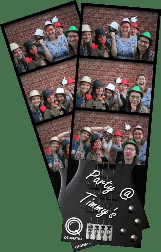Fotostrookjes photobooth Otomatiq